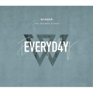 Winner-Everyd4y-2nd-Album-Day-Ver-CD-FotoBuch-Post-FotoKarte-etc-Tracking
