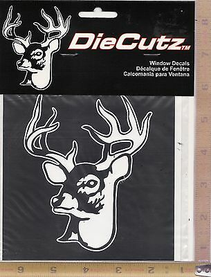 H6 Vinyl Decal Sticker Car//Truck Laptop//Netbook Window Deer Buck Lying Down