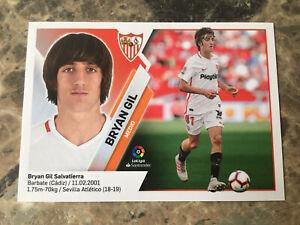 2019-20-PANINI-La-Liga-ESTE-13B-BRYAN-GIL-Rookie-Sticker-Sevilla
