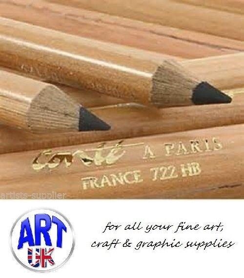 Cont/é /à Paris Round 2H Carbon Sketching Pencil