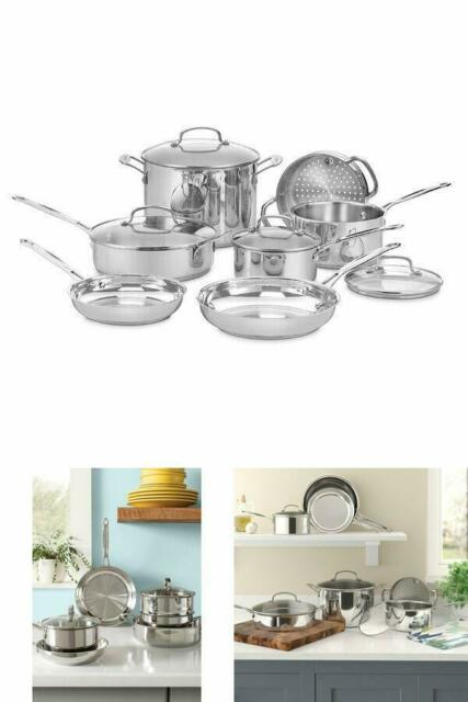 Silver SPT HK-1111 11pc Stainless Steel Cookware set 11 Piece