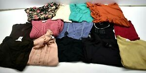 Lot-of-14-Womens-Medium-Top-Blouse-Dress-Business-Casual-Various-Brands-amp-Styles