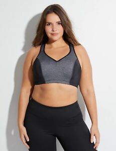 8056bf9412 New LIVI ACTIVE High Impact Molded Underwire Sports Bra LANE BRYANT ...