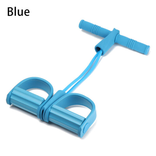 Elastic Indoor Yoga Pull Rope Resistance Bands Two-strand Pedal Ankle Puller