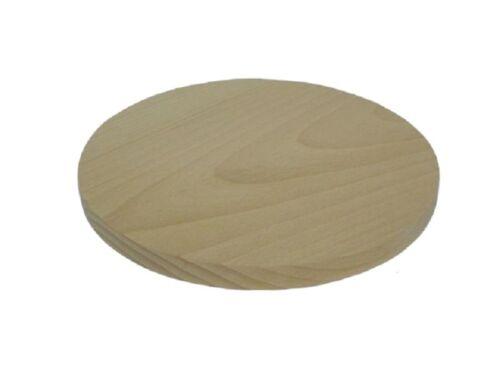 5 X formas de Círculo de Madera-Madera Artesanía Pintura Hazlo tú mismo Decoupage Artesanía 80 mm 8 Cm
