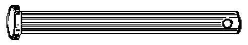 """19594 3-3//8/"""" Length 11//32/"""" Pin Diameter 10 Qty-Ford Door Hinge Pin"""