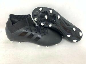 NEW-Adidas-Youth-Boy-039-s-Nemeziz-Messi-18-3-FG-Soccer-Cleats-Black-DB2354-A29-tz