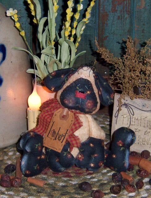 "Patti/'s Ratties Primitive Bumble Bee Bug Ornament 4/"" Doll Paper Pattern 679"