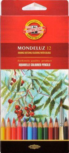 Mondeluz Akademie-Aquarellstifte KOH-I-NOOR K2181 im 12er Kartonetui