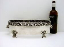 Vienna Austria Solid Silver Jardiniere bowl NO Liner Marked c1866 37.6 oz