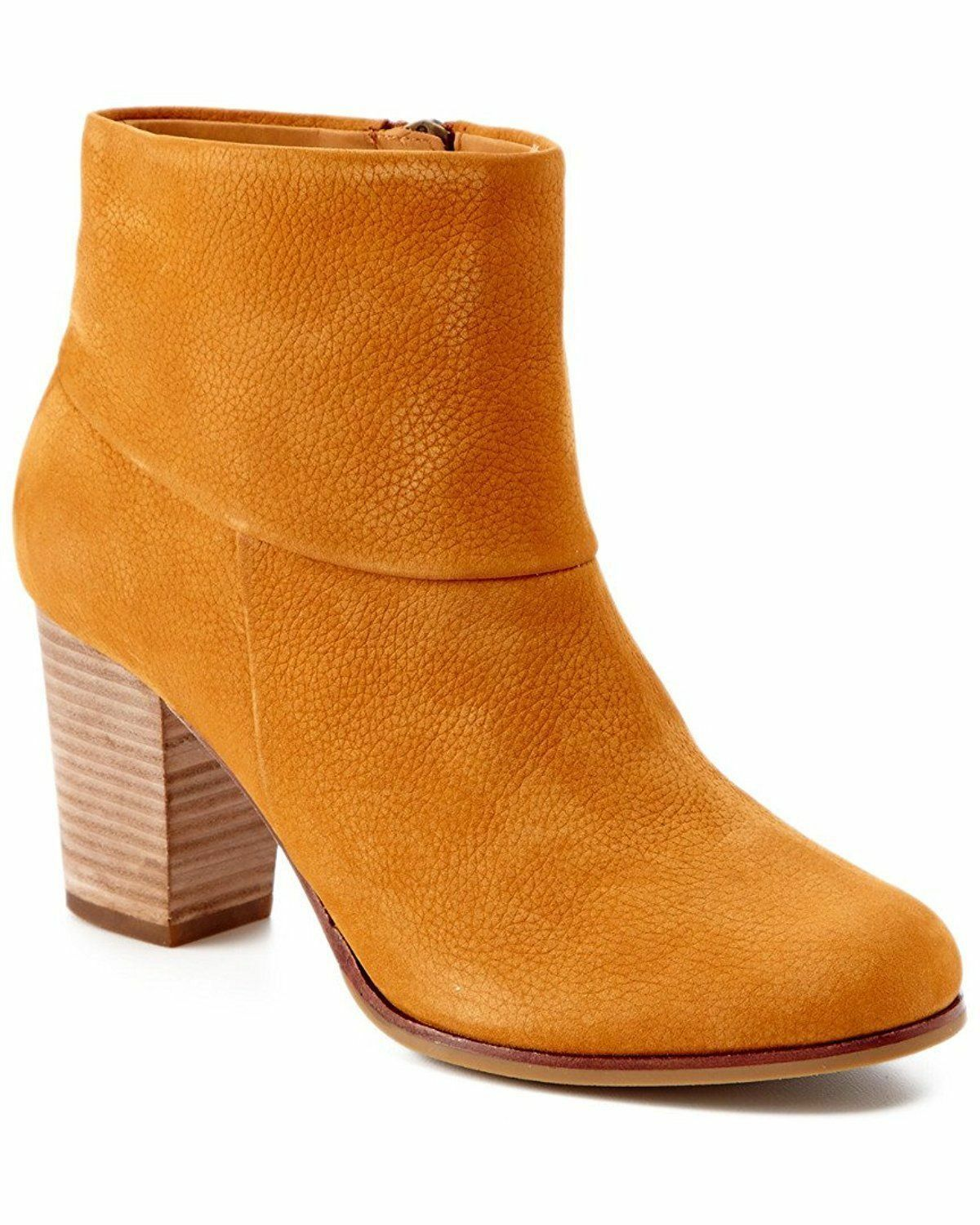 Cole Haan Cassidy Nubuck Zip Ankle Stiefel damen Camello 10 NEW IN BOX