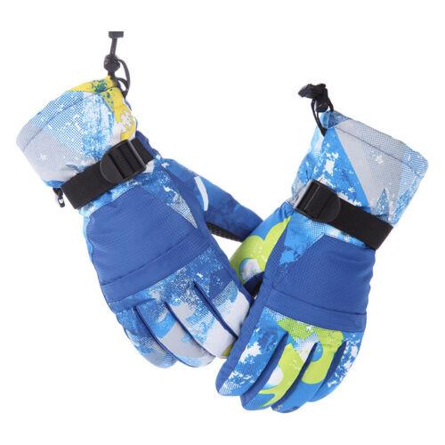 Thermal Dual Waterproof Winter Ski Gloves Warm Mittens Motorcycle Snow Outdoor