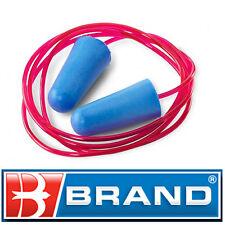 50x B-Brand Corded Ear Plugs SNR 34dB - Work Place, Music, Motorsport, Sleeping