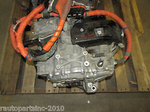 Image Is Loading 09 Toyota Camry Hybrid Transmission Transaxle Motor Generator