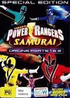 Power Rangers Samurai Volume 4 -origins Parts 1 & 2 DVD R4