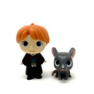 Funko Mystery Minis Harry Potter Series 1 Ron Weasley & Scabbers Rat Figures