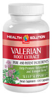 Natural Muscle Relaxer Capsules - Valerian Root Extract 4:1 - Valerenic Acid 1b