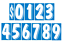 Car-Dealer-Windshield-Stickers-11-Dzn-Pricing-Numbers-You-Pick-Color-7-1-2-Inch thumbnail 10