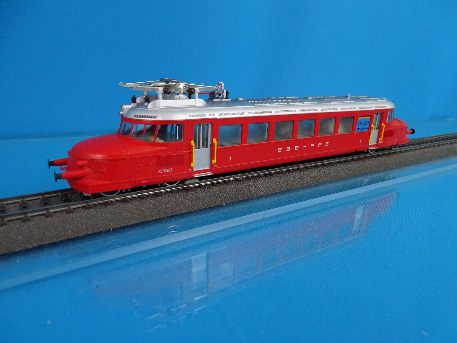 Marklin 3126 SBB CFF Train Car  ROTER PFEIL  rosso Arrow DIGITAL ESU