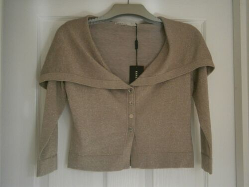With Tags Karen En Courte Veste 8 Cardigan 10 Or Millen Taille new w4qg6vZ
