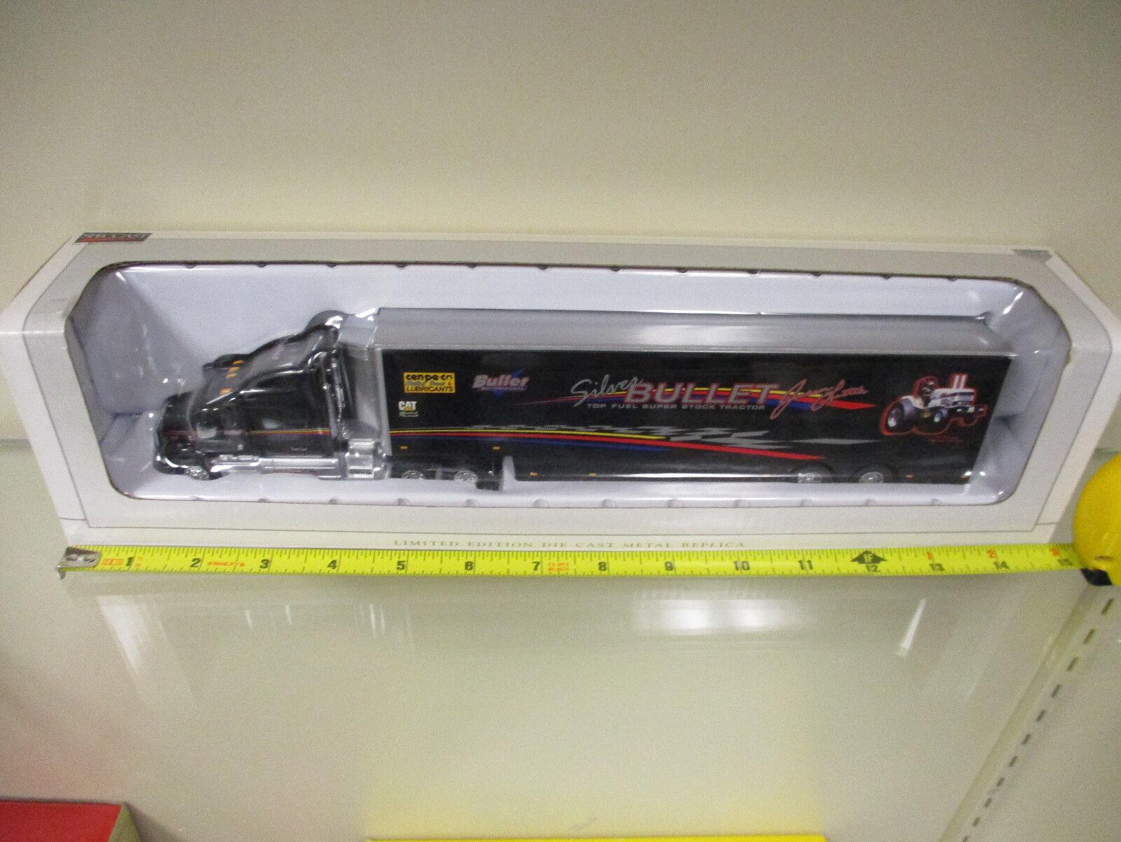 barato AGCO bala bala bala de plata tirando Tractor Peterbilt Semi edición limitada por Speccast   echa un vistazo a los más baratos