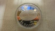 Netherlands 10 Gulden 1999 2000 Silver Coin Proof Millennium COLLECTION Beatrix