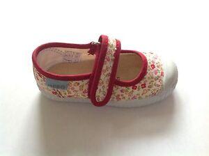 MOD8 Pabou 2 Rose Canvas Mary Jane Style Shoe Various Sizes