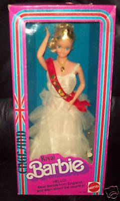 1979 Royal Inglaterra Dotw Barbie En Caja