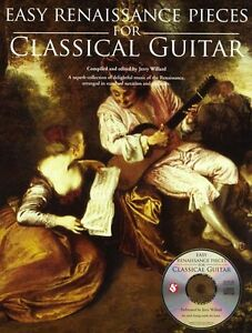 Details about Easy Renaissance Pieces For Classical Guitar Learn TAB Music  Book CD Lute Works