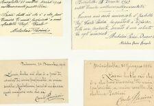 Testamento fra Fratello e Sorella in Brisighella 1908