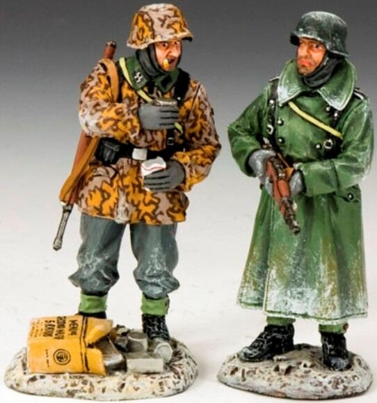KING & COUNTRY BATTLE OF THE BULGE BBG040 GERMANS TAKE SOME MIB