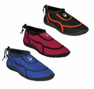 Adult aqua shoes wet water beach surf pool