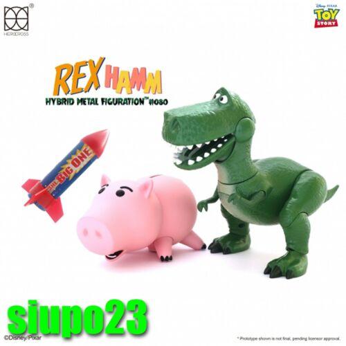 Hamm /& Rocket Figure Herocross ~ HMF #080 Disney Toy Story Rex