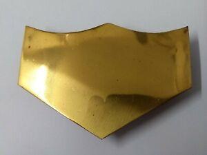 Genuine British Military Issue Ceremonial Brass Belt Strap Tip X1 STD126