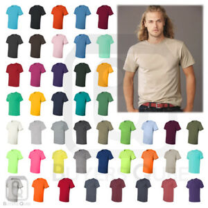 Jerzees-Mens-Dri-Power-Active-50-50-T-Shirt-Plain-Basic-Tee-S-2XL-29MR