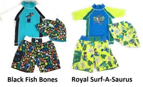 UV Skinz Boys 3-piece Swim Set NWT UPF 50+ Sun Protection Pick Style and Size
