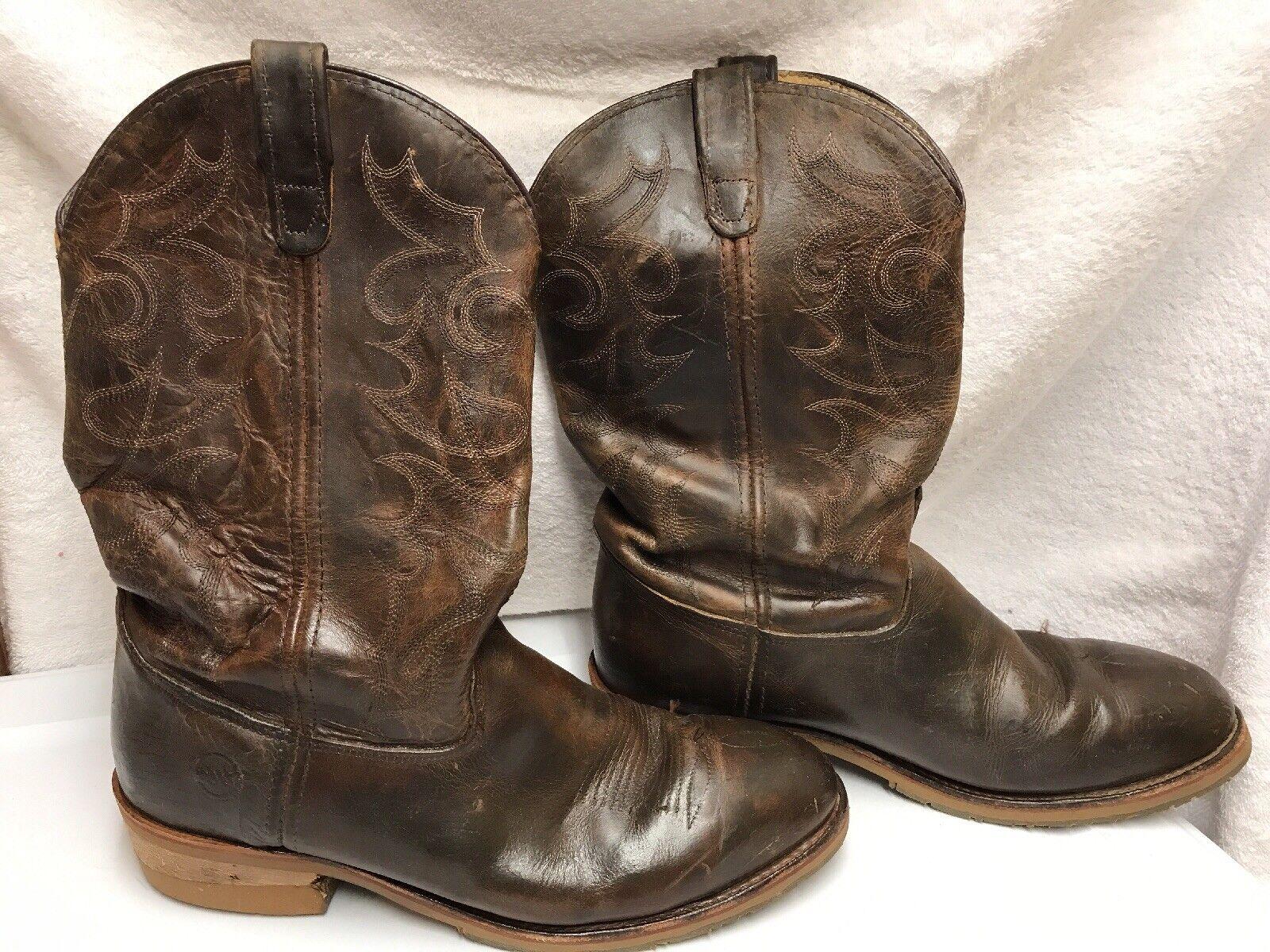 Men's 12  Double H Steel Toe Gel ICE™ Work Western DH159 Size US 12D