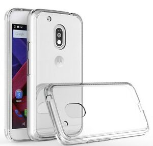 Clear-Silicone-Slim-Gel-Case-Screen-Protector-for-Motorola-Moto-G4-2016