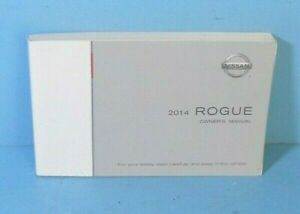 Rogue 14 2014 Nissan Owner/'s Owners Manual OEM