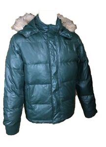 low priced 68cba 65c93 Dettagli su BENETTON giubbotto giacca in piumino ricca imbottitura  vestibilità aderente 50