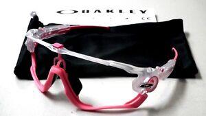 d848326ecd Image is loading Oakley-Jawbreaker-Crystal-Pop-Matte-Clear-Pink-Sunglasses-