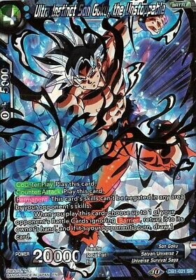 THE UNSTOPPABLE GHOST WARRIOR P-167 FOIL DBS Dragon Ball Super Game TURLES