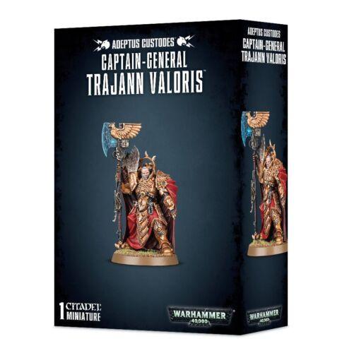 Warhammer 40k Adeptus Custodes Captain-General Trajann Valoris NIB