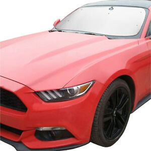 Details about Fit For Ford Mustang Coupe 2015-2018 Front Windshield Window  Sun Shade UV Block c5456c9d04e