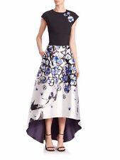 Anthropologie Sachin & Babi Nori Avalon Flower High Low Ball Skirt-12