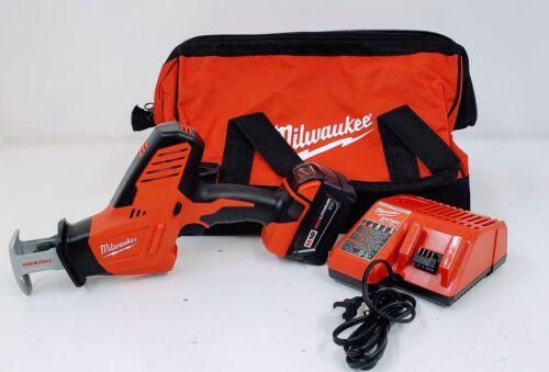 Milwaukee 2625-21 M18 HACKZALL Cordless One-handed Recip Saw Kit