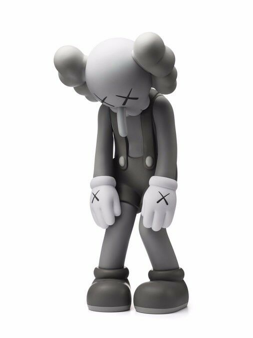 Kaws Small Lie Companion Grey MONO Limited Edition SOLD OUT