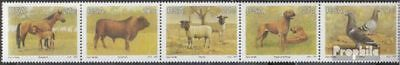 Cancelled 1991 St Fine Workmanship South Africa 813-817 Five Strips complete.issue. Fine Used