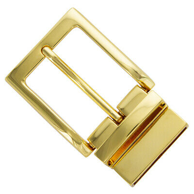"""3//4/"""" Heavily Plated Gold Belt Buckle Fits A Belt 3//4 Inch or Less Free Shipping"""