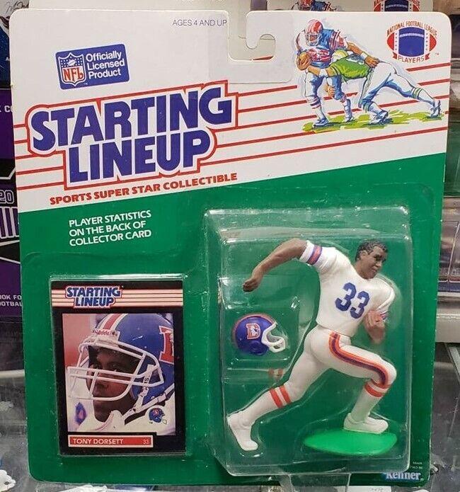 1989 Starting Lineup Football - TONY DORSETT- BRONCOS
